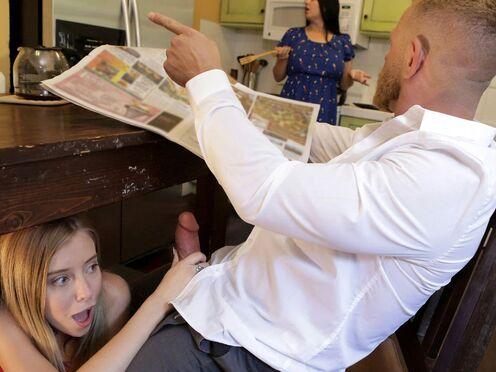 Дочь легла под своего отца и занялась инцестом