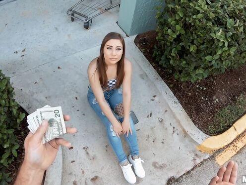 Чувак заплатил телке денег, чтобы она согласилась на перепихон в пизду